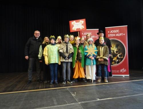 Eröffnung des Dreikönigssingens in Neunburg vorm Wald 2019