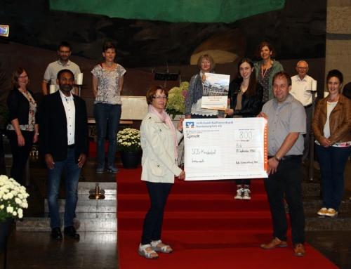 Spendenübergabe an das SOS-Kinderdorf in Immenreuth 2020